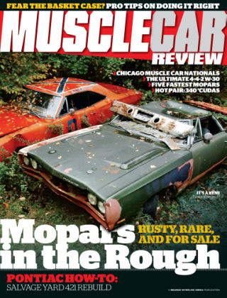 Muscle Car Review March 2014