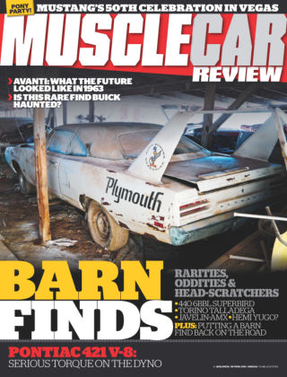 Muscle Car Review August 2014