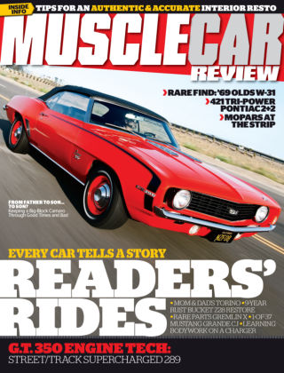 Muscle Car Review September 2014
