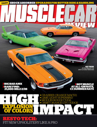 Muscle Car Review November 2014
