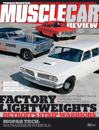 Muscle Car Review June 2015