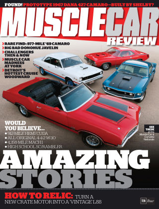 Muscle Car Review November 2015