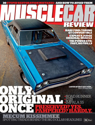 Muscle Car Review May 2016