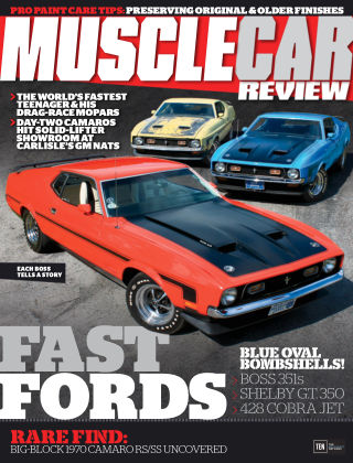 Muscle Car Review Oct 2016