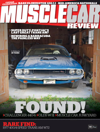 Muscle Car Review Aug 2017