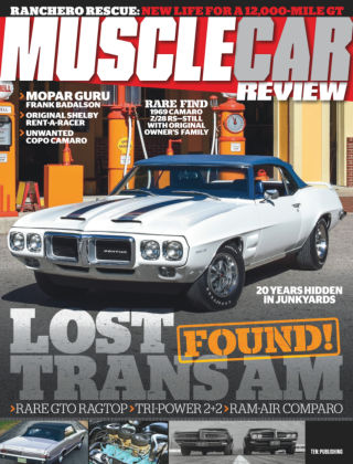 Muscle Car Review Aug 2018