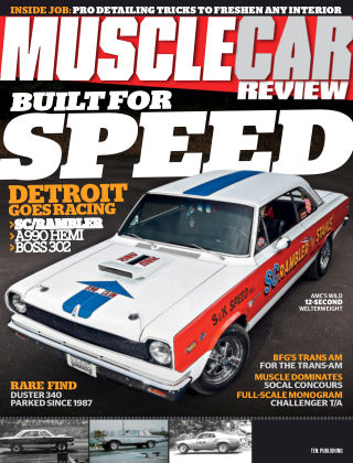 Muscle Car Review Sep 2018