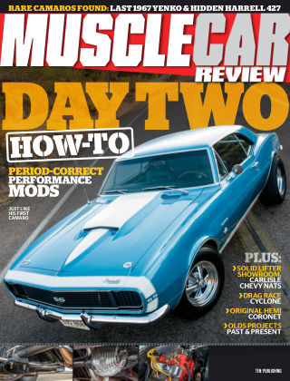 Muscle Car Review Oct 2018