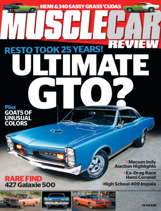 Muscle Car Review Sep 2019