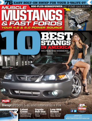 Muscle Mustangs & Fast Fords January 2014