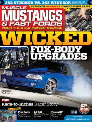 Muscle Mustangs & Fast Fords September 2013