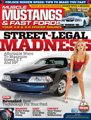 Muscle Mustangs & Fast Fords July 2013