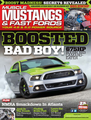 Muscle Mustangs & Fast Fords August 2013