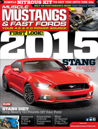 Muscle Mustangs & Fast Fords March 2014