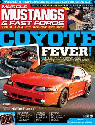 Muscle Mustangs & Fast Fords April 2014