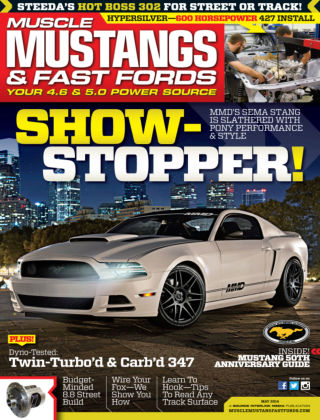 Muscle Mustangs & Fast Fords May 2014