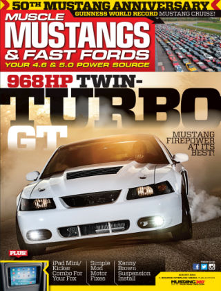 Muscle Mustangs & Fast Fords August 2014