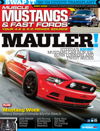 Muscle Mustangs & Fast Fords December 2014