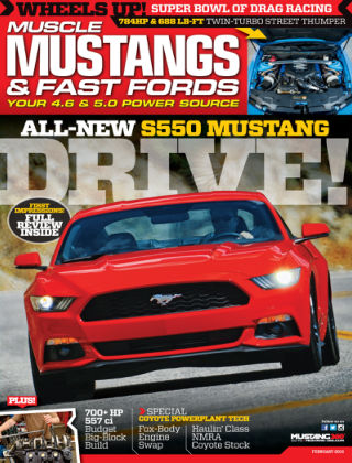 Muscle Mustangs & Fast Fords February 2015