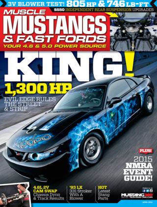 Muscle Mustangs & Fast Fords April 2015
