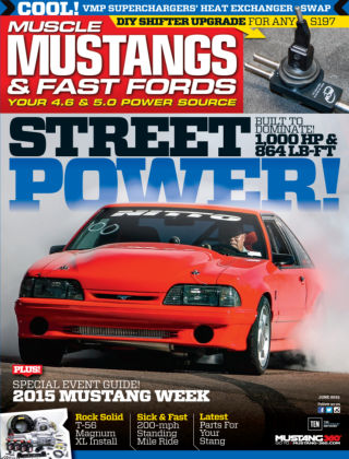 Muscle Mustangs & Fast Fords June 2015