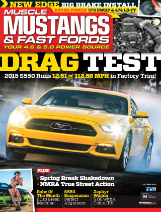 Muscle Mustangs & Fast Fords October 2015