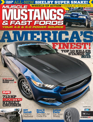 Muscle Mustangs & Fast Fords Jan 2016