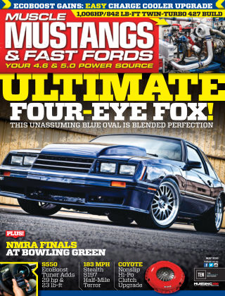 Muscle Mustangs & Fast Fords May 2016