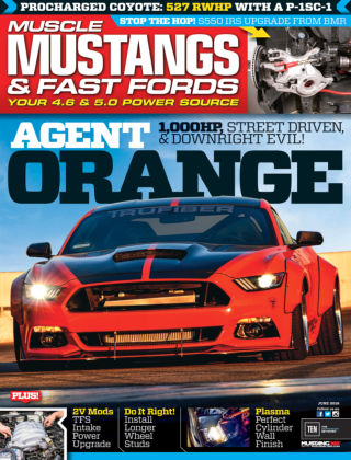 Muscle Mustangs & Fast Fords Jun 2016