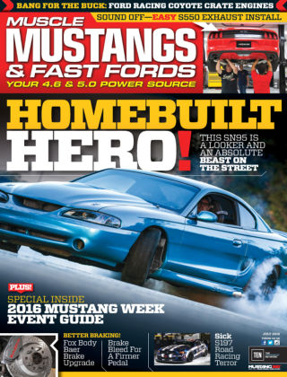 Muscle Mustangs & Fast Fords Jul 2016