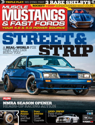 Muscle Mustangs & Fast Fords Aug 2016