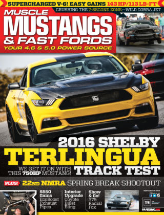 Muscle Mustangs & Fast Fords Sep 2016