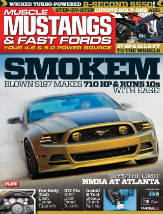 Muscle Mustangs & Fast Fords Oct 2016