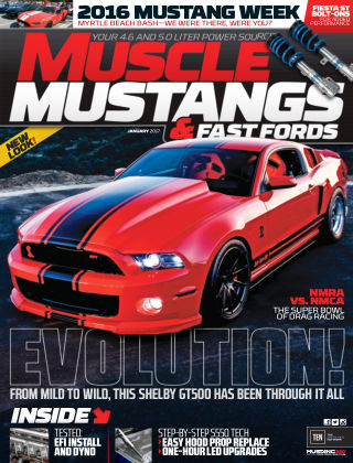 Muscle Mustangs & Fast Fords Jan 2017