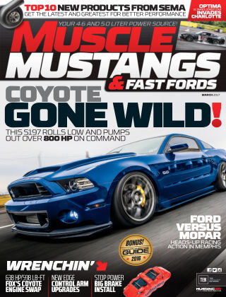 Muscle Mustangs & Fast Fords Mar 2017