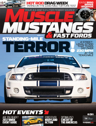 Muscle Mustangs & Fast Fords Apr 2017