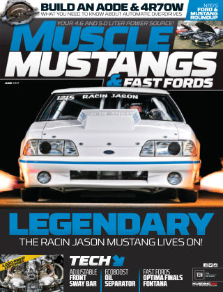Muscle Mustangs & Fast Fords Jun 2017