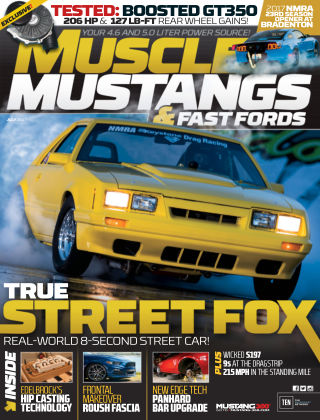Muscle Mustangs & Fast Fords Jul 2017