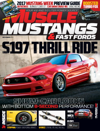 Muscle Mustangs & Fast Fords Sep 2017