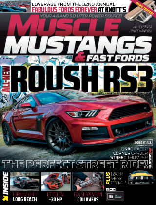 Muscle Mustangs & Fast Fords Oct 2017