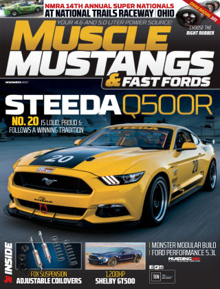 Muscle Mustangs & Fast Fords Nov 2017