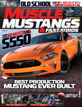 Muscle Mustangs & Fast Fords Apr 2018