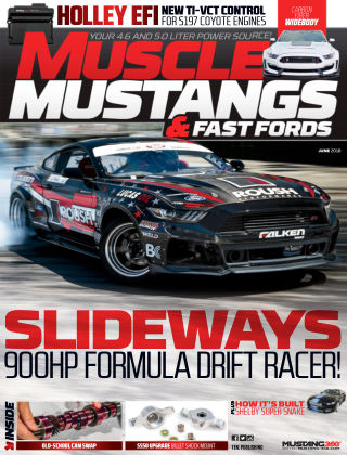 Muscle Mustangs & Fast Fords Jun 2018