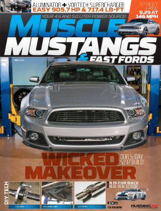 Muscle Mustangs & Fast Fords Jul 2018
