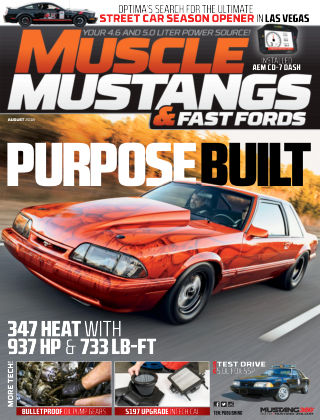 Muscle Mustangs & Fast Fords Aug 2018
