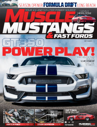 Muscle Mustangs & Fast Fords Sep 2018