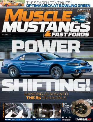 Muscle Mustangs & Fast Fords Oct 2018