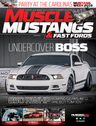 Muscle Mustangs & Fast Fords Feb 2019