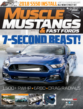 Muscle Mustangs & Fast Fords Mar 2019