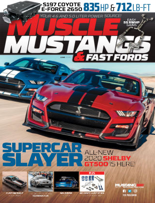 Muscle Mustangs & Fast Fords Jun 2019